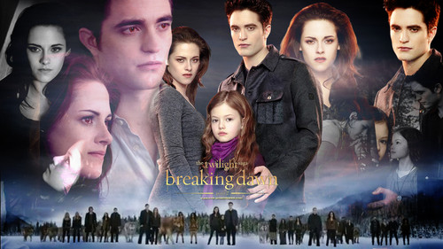 Breaking Dawn part 1&2 fondo de pantalla