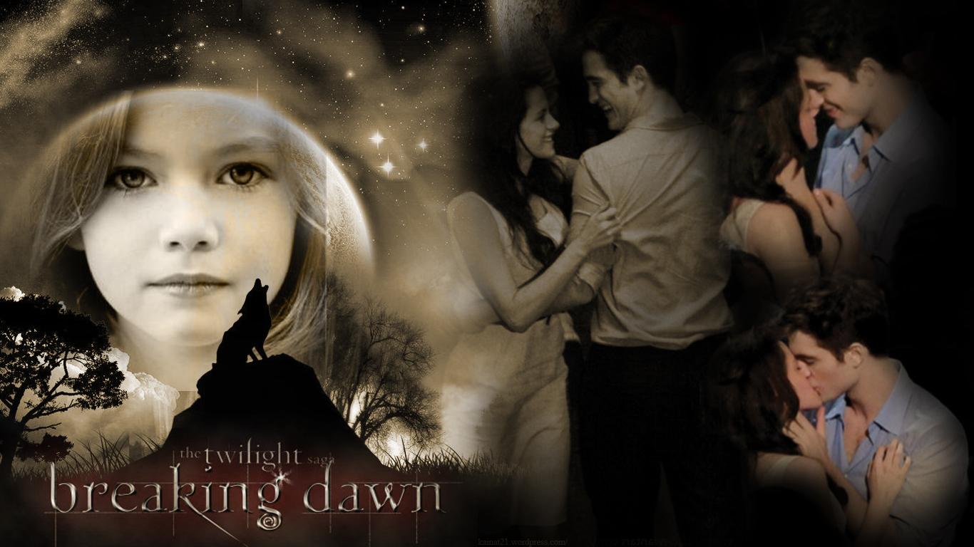 Twilight series breaking dawn part 1 2 wallpaper