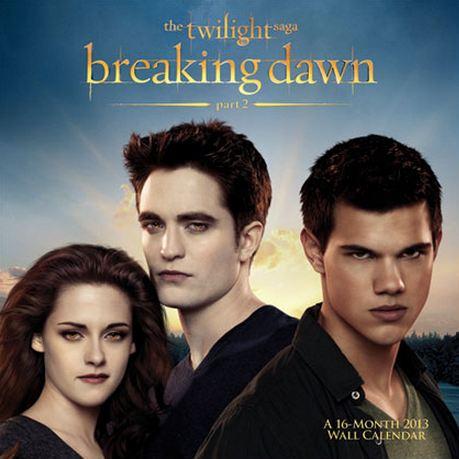Breaking Dawn part 2 calendar cover