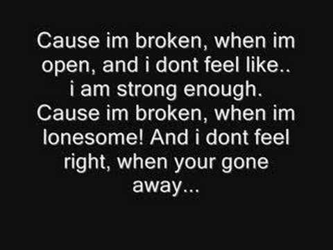 Seether wallpaper called Broken Lyrics