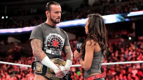 CM Punk, AJ and Bryan open Raw