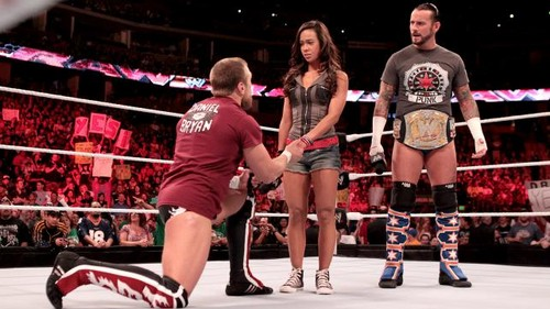 CM Punk, AJ and Bryan open Raw