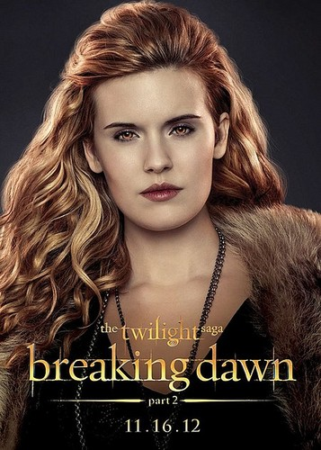 COMIC-CON 2012: The Twilight Saga: Breaking Dawn - Part 2 Character Posters - twilight-series Photo
