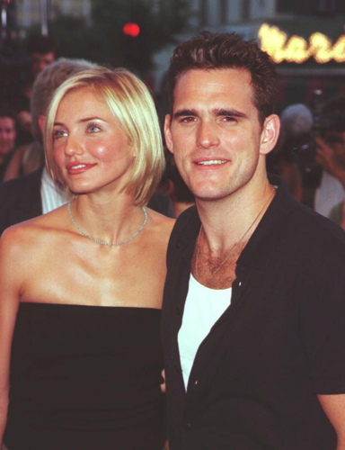 Cameron Diaz and Matt Dillon (1995 to 1998)