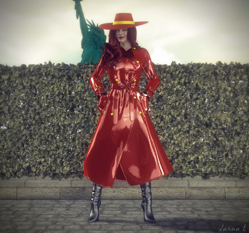 Carmen Sandiego,New York.