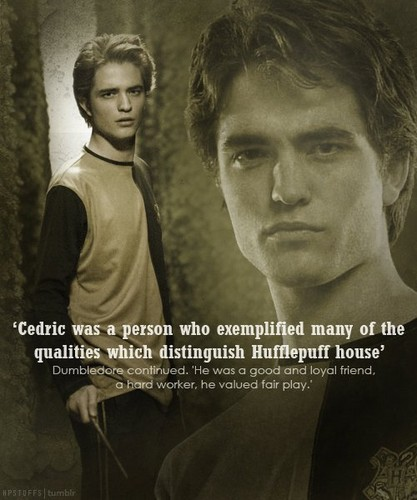 Гарри Поттер Обои with a portrait entitled Cedric Diggory