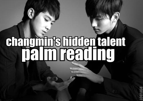 Changmin's hidden talent...