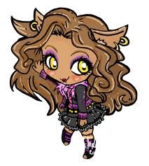Monster High wallpaper called Chibi