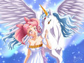 Chibiusa and Pegasus - sailor-mini-moon-rini fan art