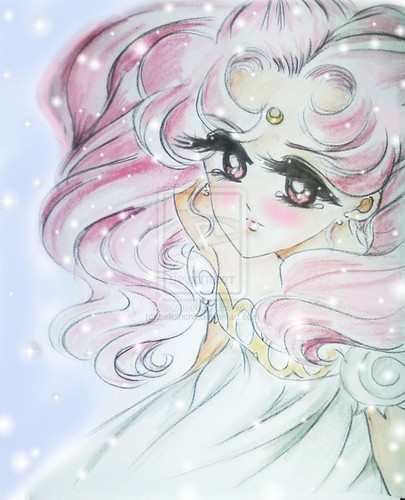 Sailor Mini moon (Rini) wallpaper possibly with a red cabbage and an embryonic cell entitled Chibiusa