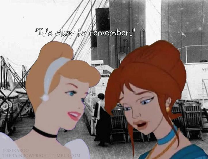 Cinerella on the Titanic