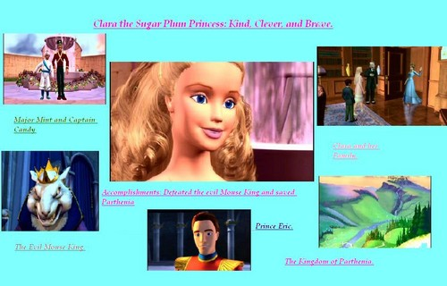 Clara the Sugar Plum Princess.