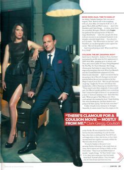 Clark Gregg Magazine Interview
