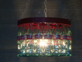 Coca-Cola Bottle Chandelier