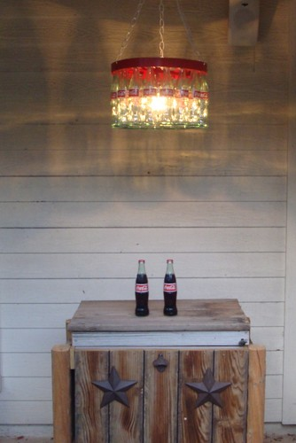 コーラ Bottle Chandelier