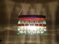 coca Bottle Chandelier