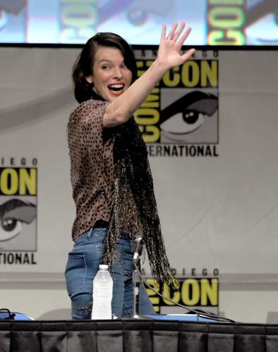 "Comic-Con International 2012 -Screen Gems' ""Resident Evil: Retribution"" Panel [July 13]"