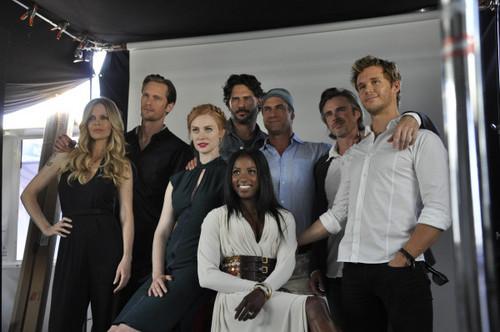 Comic-Con yacht, True Blood cast!