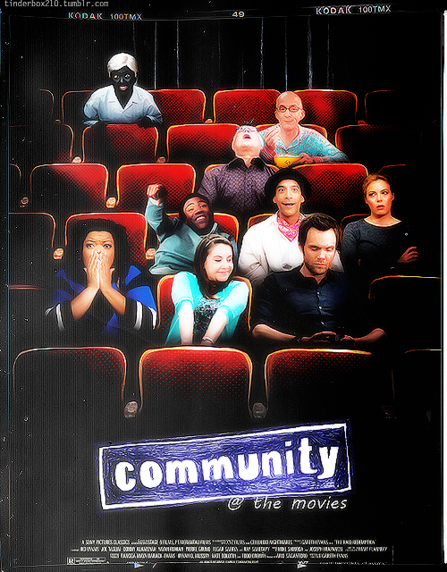 Community cast at Comic Con 2012