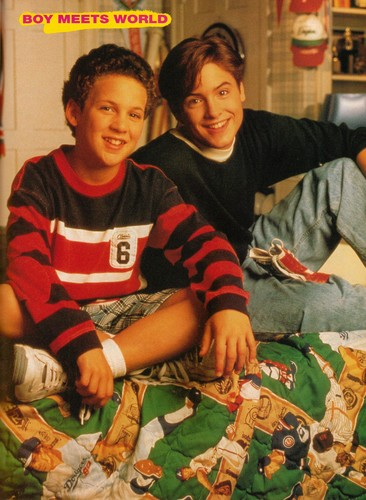 Boy Meets World wallpaper entitled Cory and Eric Matthews