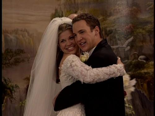 Cory and Topanga married