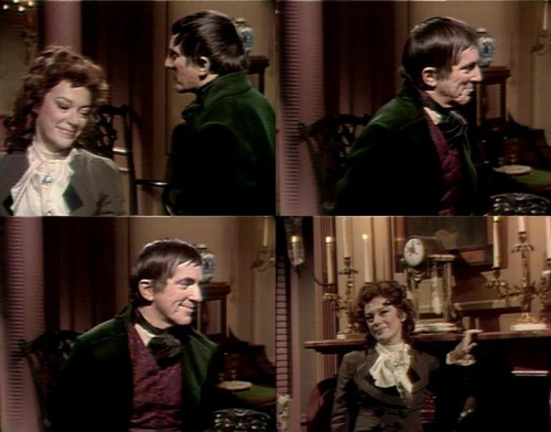 Countess Natalie DuPres and Barnabas Collins