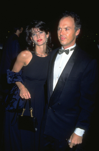 Courtney Cox and Michael Keaton (1989 to 1995)