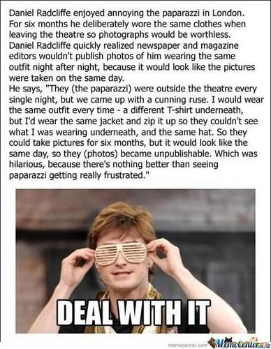 Daniel Radcliffe's prank