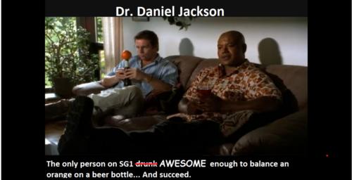 Daniel & Teal'c