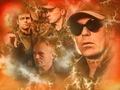 Daniel and Jack - stargate-sg-1 wallpaper