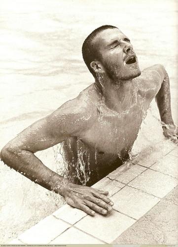 David Beckham: My World Scans