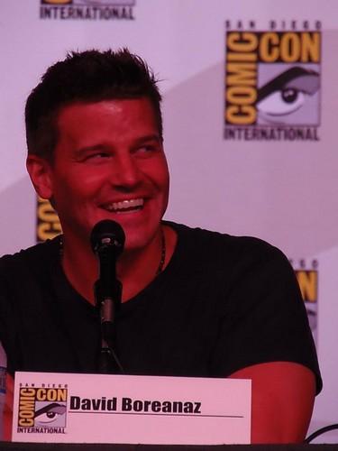 David Boreanaz at Comic Con 2012