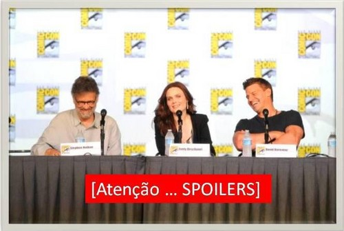 David &amp; Emily [Comic Con 2012] - demily Photo