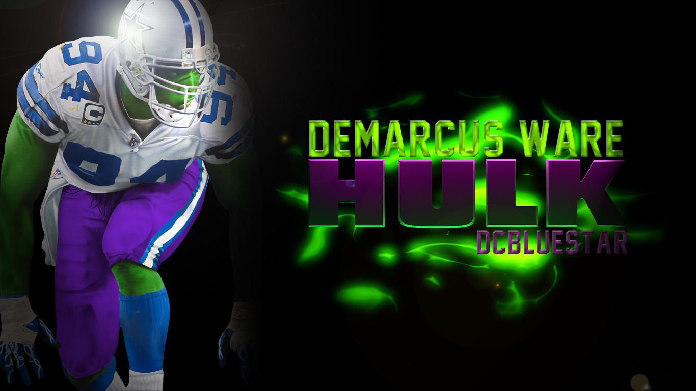 DeMarcus Hulk // By: DCBlueStar