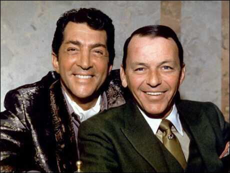 Dean Martin Обои with a business suit entitled Dean Martin & Frank Sinatra