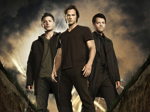 Dean,Sam and Castiel