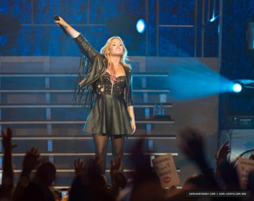 Demi - Summer Tour - Energy Solutions Arena Salt Lake City, UT - July 12, 2012