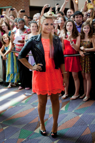Demi - 'X Factor' Auditions in Greensboro, NC - July 08, 2012