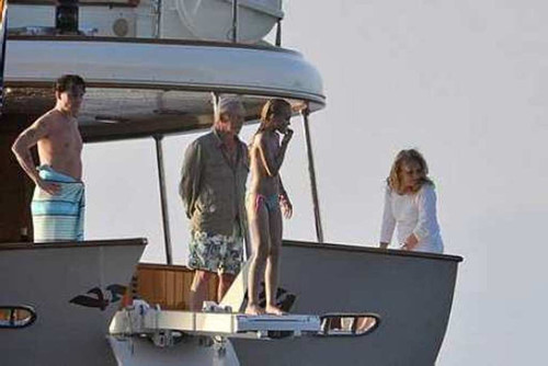 Depp Family on VaJoLiRoJa in France 08-20-2011