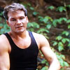 Patrick Swayze photo probably with a portrait called Dirty Dancing