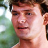 Patrick Swayze photo with a portrait titled Dirty Dancing