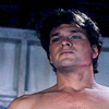 Patrick Swayze photo with skin and a portrait titled Dirty Dancing