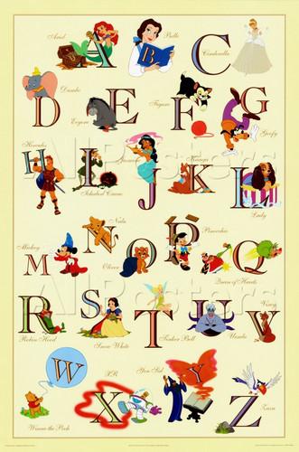 迪士尼 Alphabet