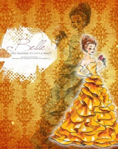 Дисней Designer Princesses: Belle