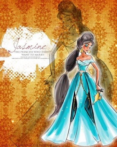 डिज़्नी Designer Princesses: चमेली