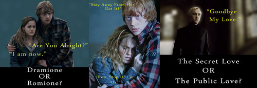 Dramione or Romione