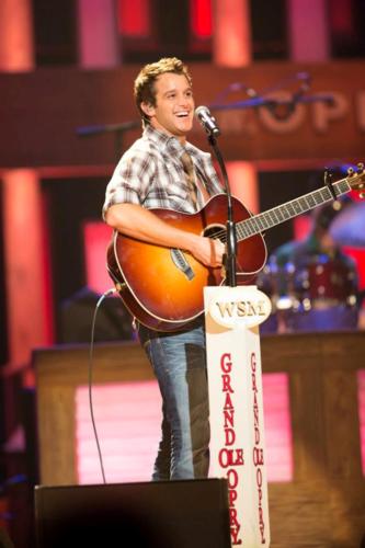 Easton Corbin at the Grand Ole Opry