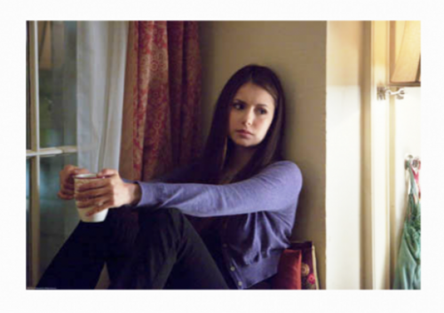 TV Female Characters wallpaper probably containing a living room titled Elena Gilbert