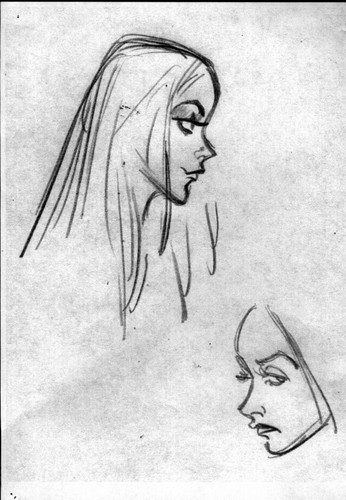 Elsa the Snow Queen Concept Art