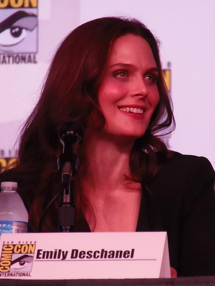Emily Deschanel at Comic Con 2012